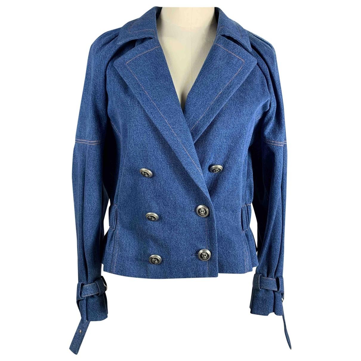 Dior \N Blue Denim - Jeans jacket for Women 40 FR