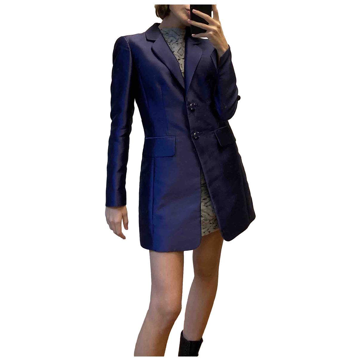 - Veste   pour femme en soie - violet