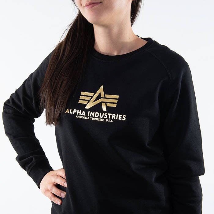 Alpha Industries New Basic Sweater Wmn Foil Print 196031FP 534