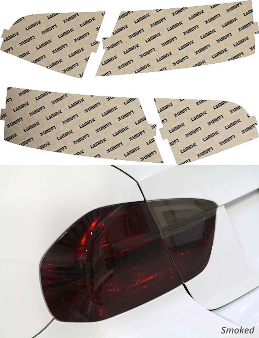 Audi S5 08-12 Smoked Tail Light Covers Lamin-X A214S