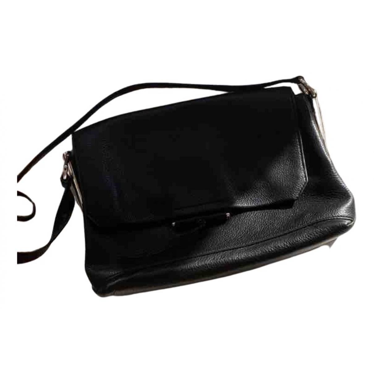 Sandro N Black Leather handbag for Women N