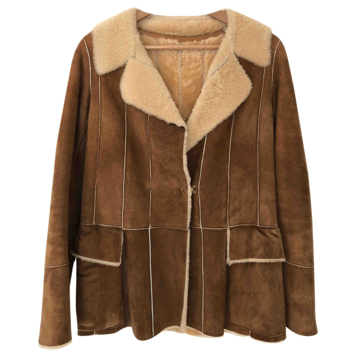 Nicole Farhi N Brown Shearling coat for Women 6 UK