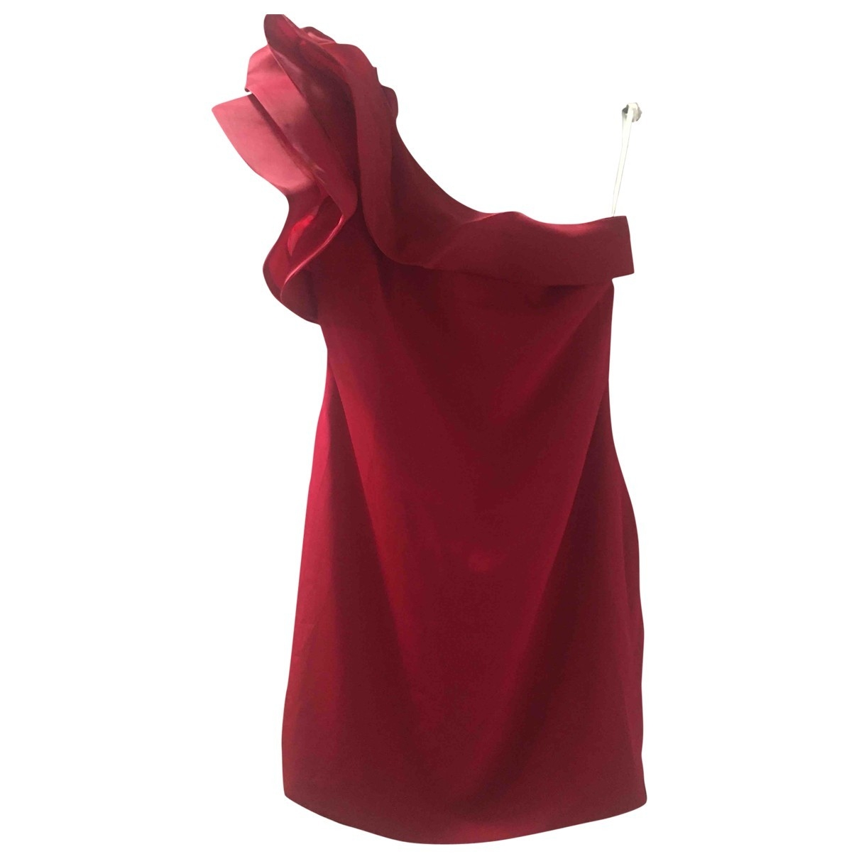 Marchesa Notte \N Red Silk dress for Women 12 US