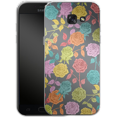 Samsung Galaxy A5 (2017) Silikon Handyhuelle - Roses von Bianca Green
