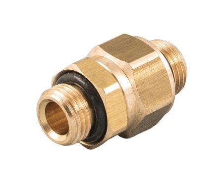 RS PRO Pneumatic Bulkhead Threaded Adapter (10)