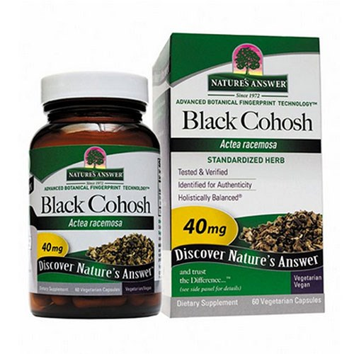 Black Cohosh Root Standardized 60 Vcaps by Nature's Answer
