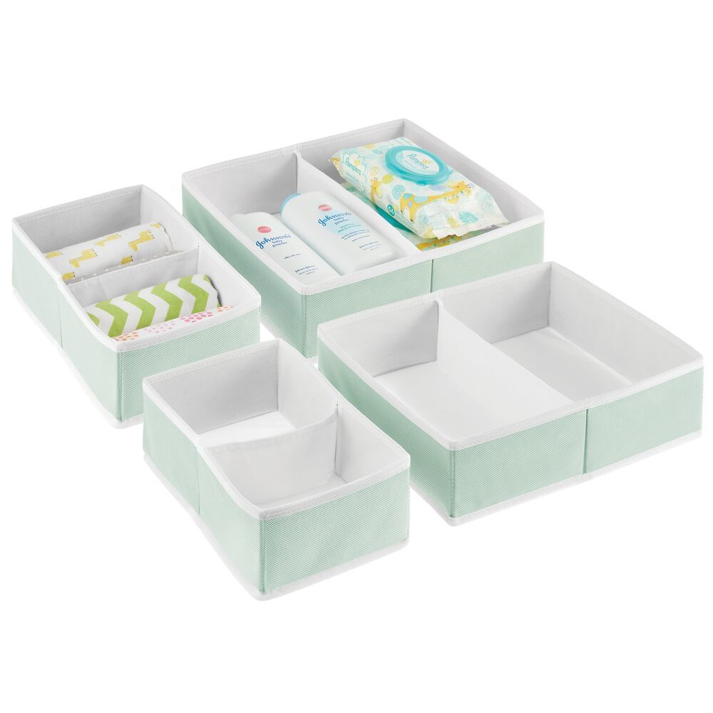 Baby Drawer OrganizerMint - Set of in Green, 7.5