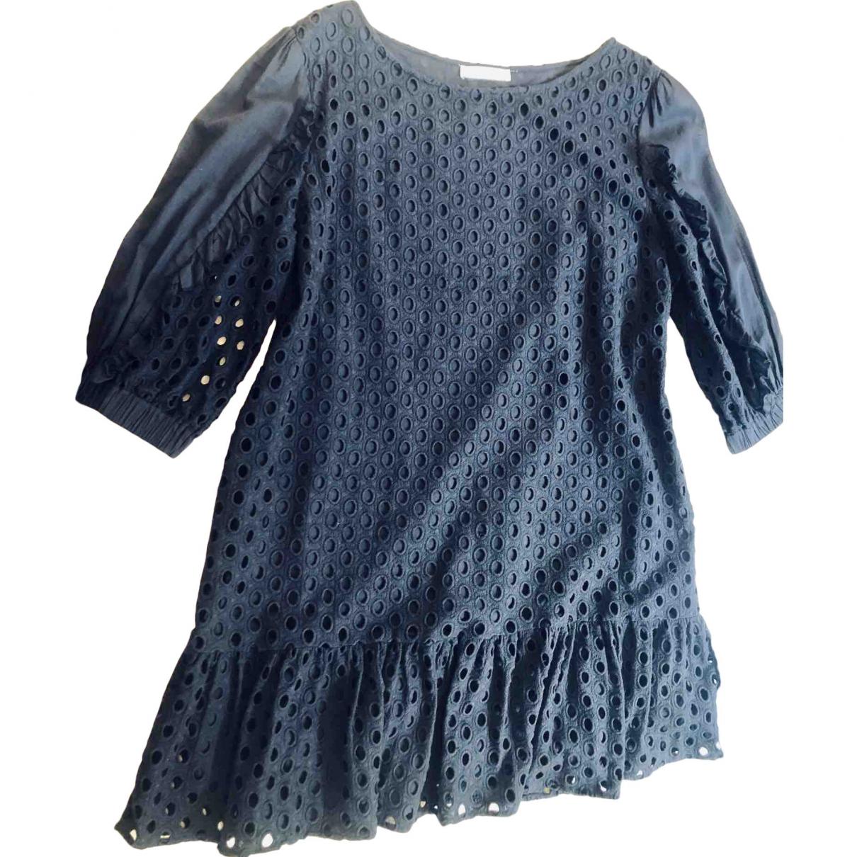 Zapa \N Navy Cotton dress for Women 42 FR