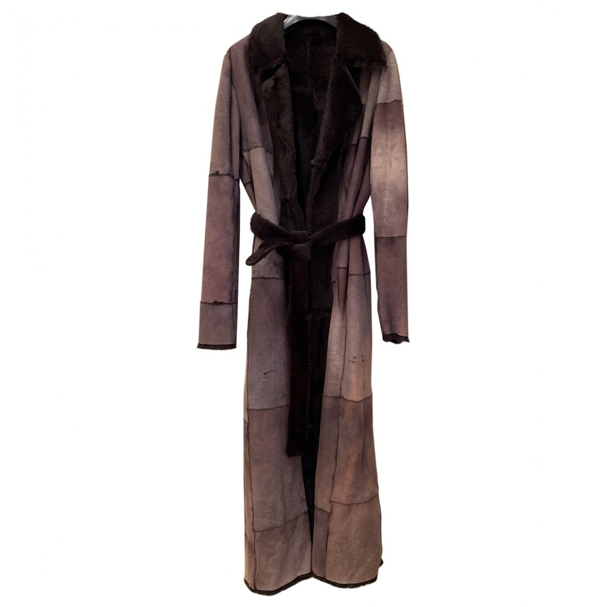 Non Signé / Unsigned \N Shearling coat for Women 44 IT
