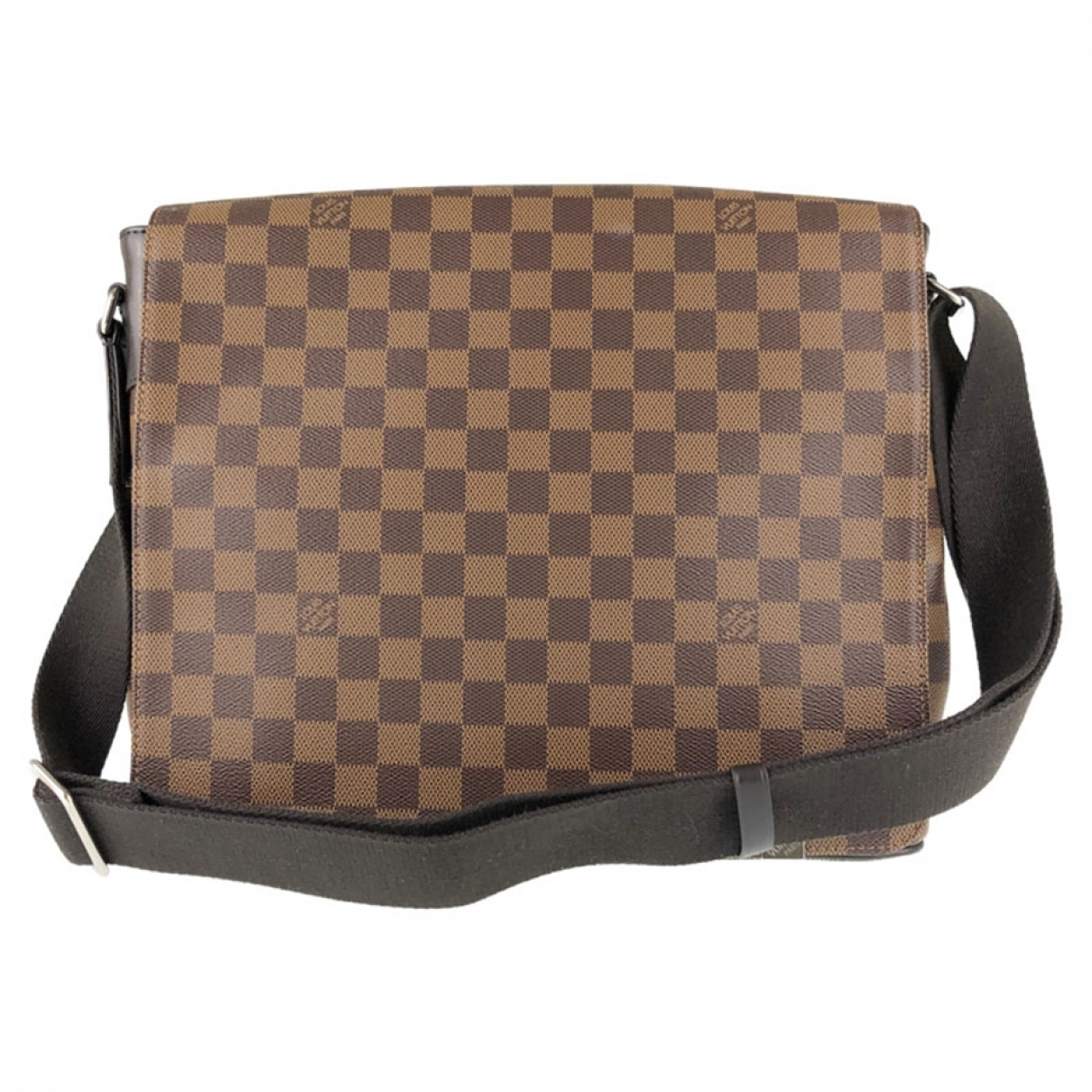 Louis Vuitton District Brown Cloth bag for Men \N