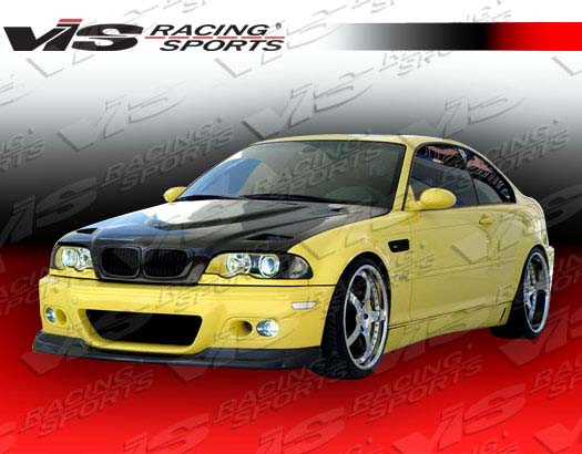 VIS Racing 99BME462DEUR-010C Carbon Fiber Euro R Style Hood BMW 330Ci E46 2dr 01-03