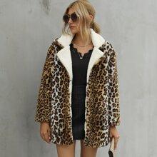 Chaquetas Leopardo Casual