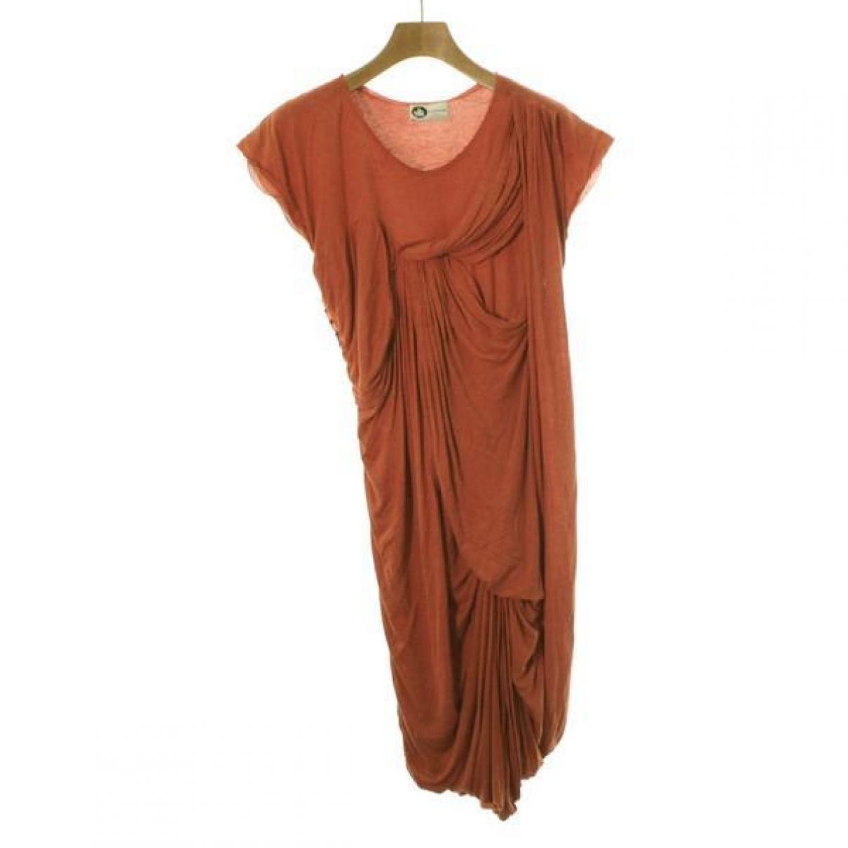 Lanvin \N Kleid in  Rot Viskose