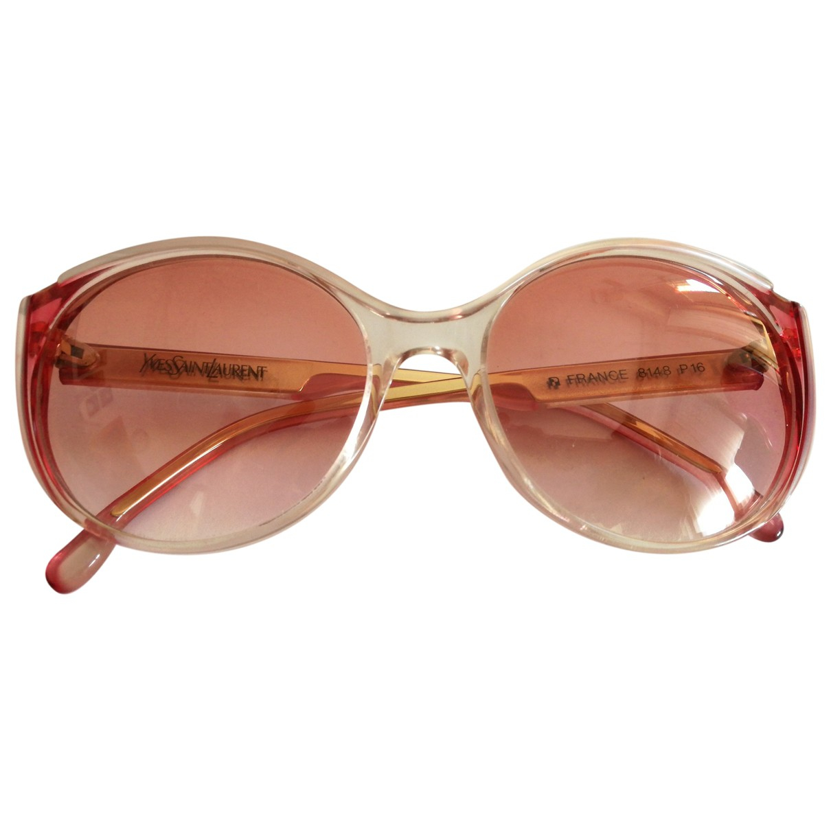Yves Saint Laurent N Pink Sunglasses for Women N