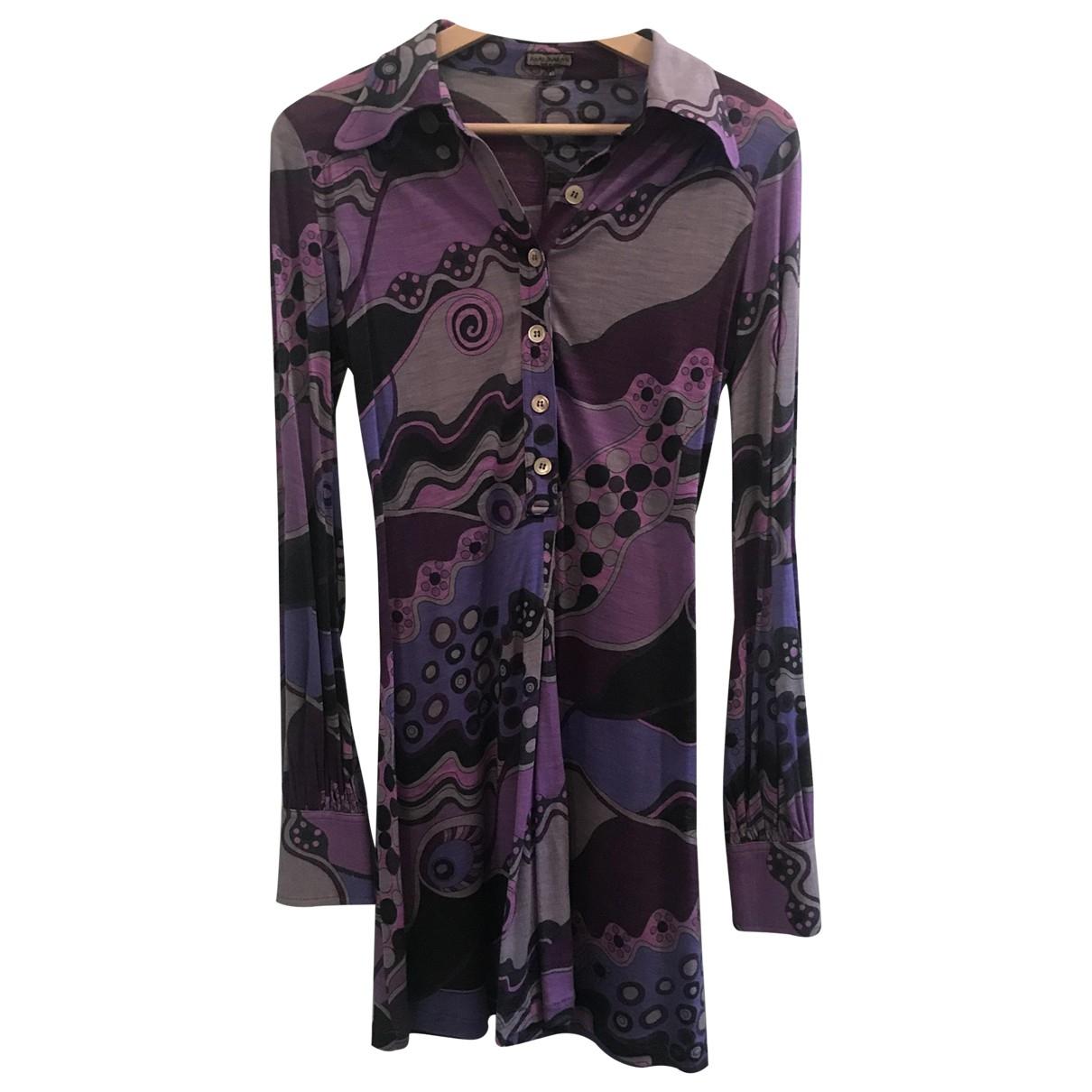 Maliparmi - Robe   pour femme en laine - violet