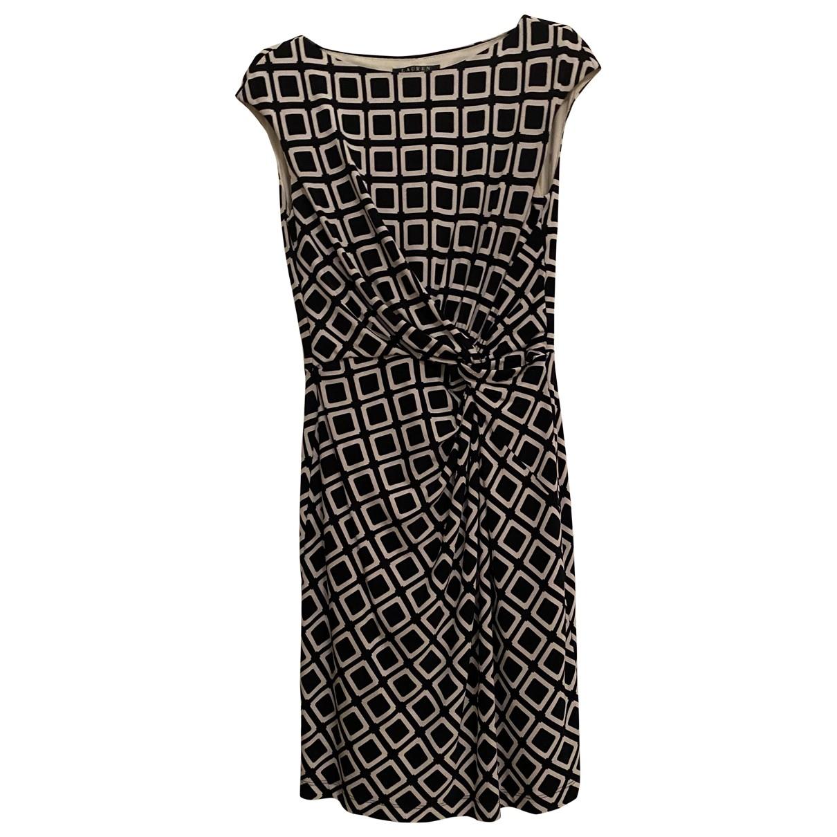 Lauren Ralph Lauren \N Kleid in  Blau Synthetik