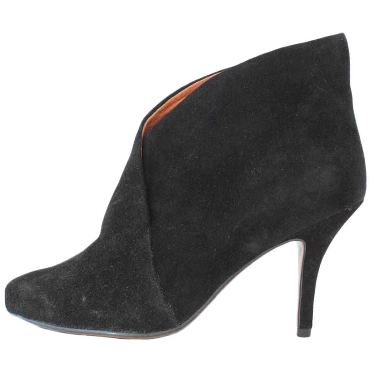 Lola Cruz - Bottes   pour femme en cuir - noir