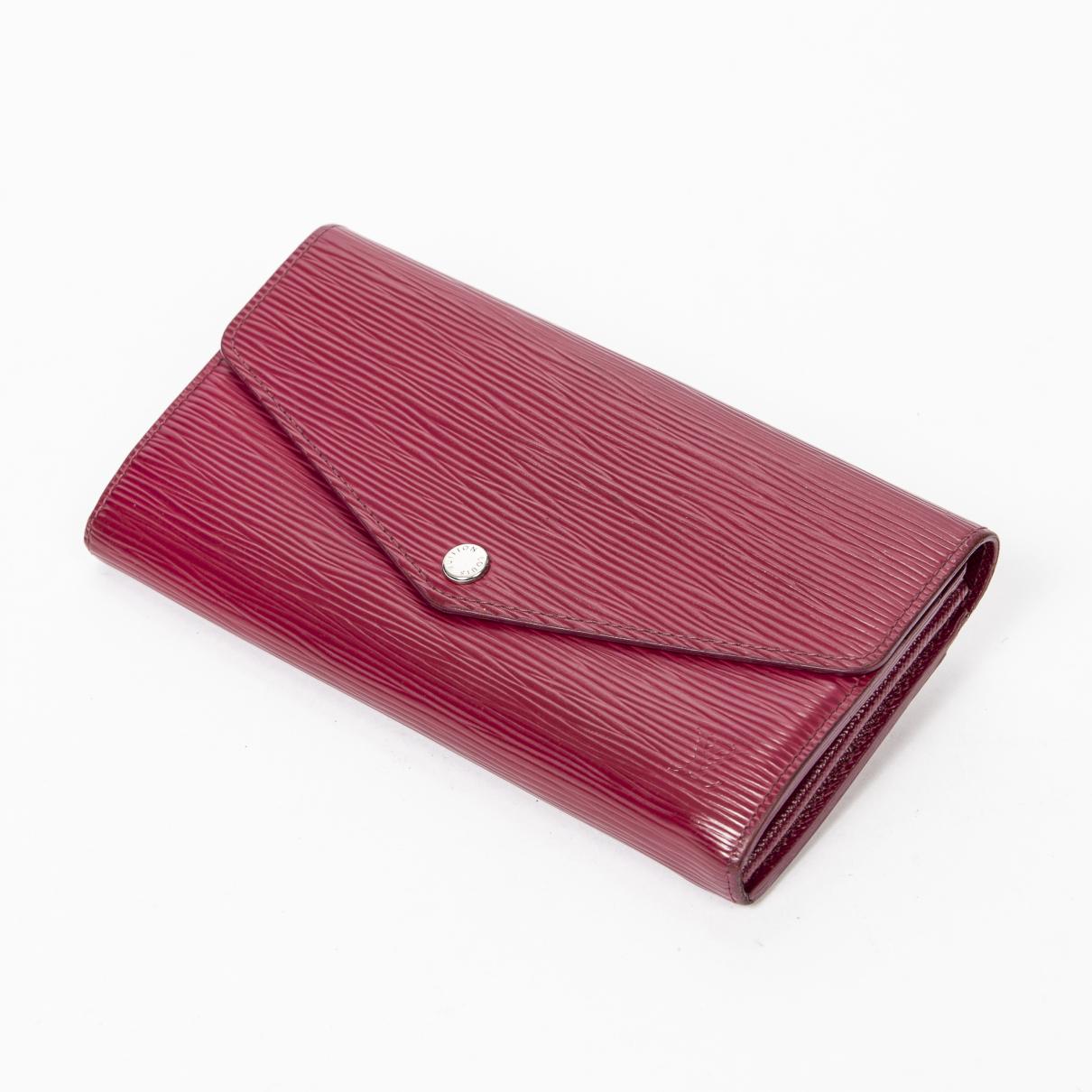 Louis Vuitton - Portefeuille Sarah pour femme en cuir