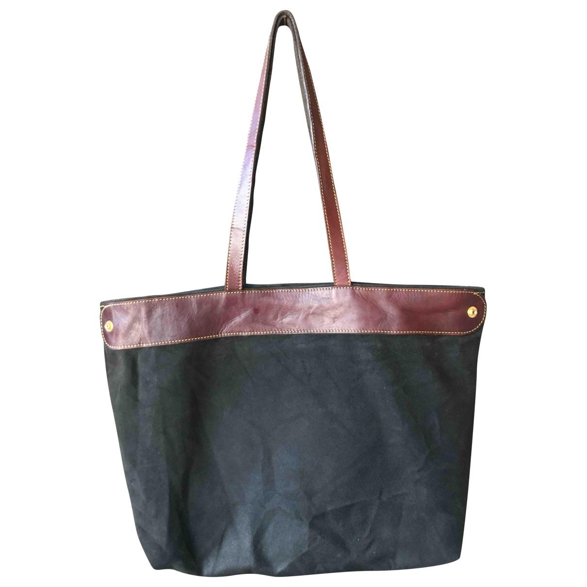 Loewe \N Green Suede handbag for Women \N