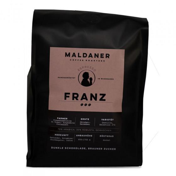 """Kaffeebohnen Maldaner Kaffeerosterei """"Espresso Franz, 1kg"""