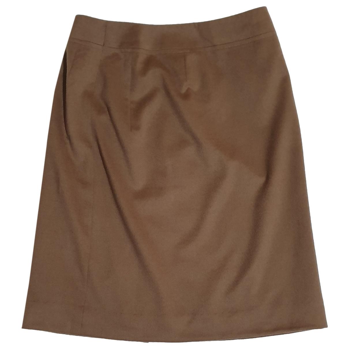 Akris Punto \N Brown Wool skirt for Women 40 FR