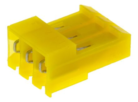 TE Connectivity 3-Way IDC Connector Socket for Cable Mount, 1-Row (5)