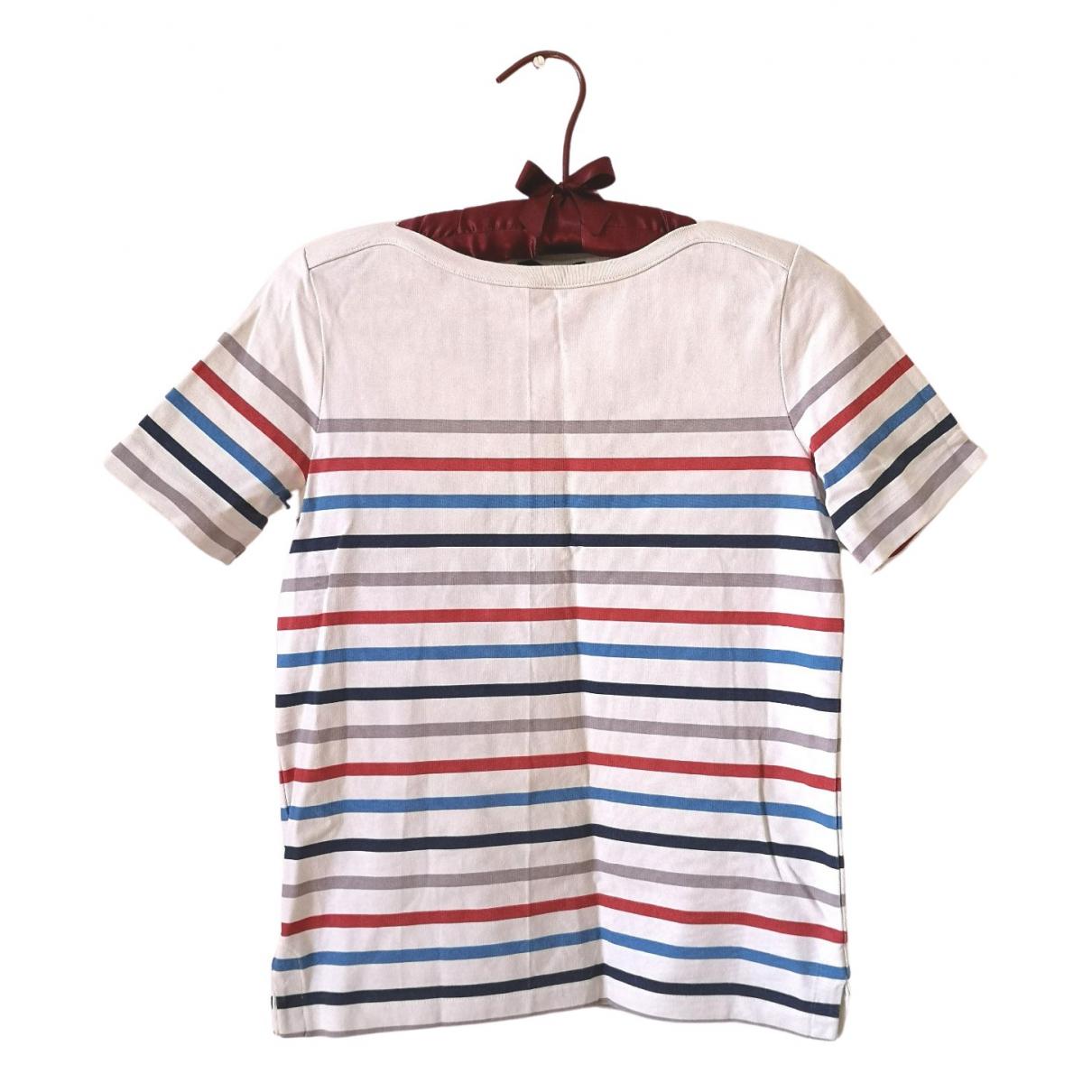 Apc - Top   pour femme en coton - multicolore