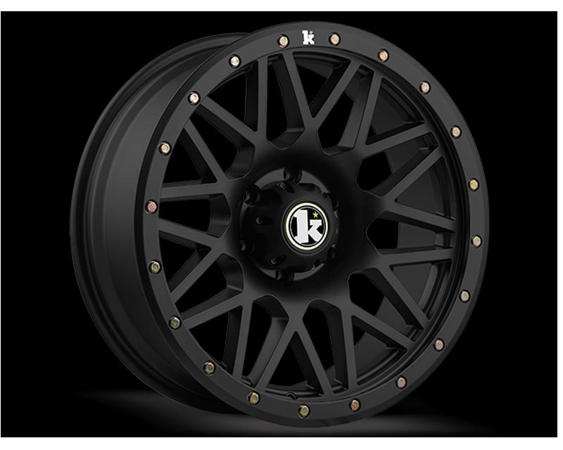 KLUTCH OFFRD Matte Black KT02 Wheel 20x9 8x165.1 -12mm