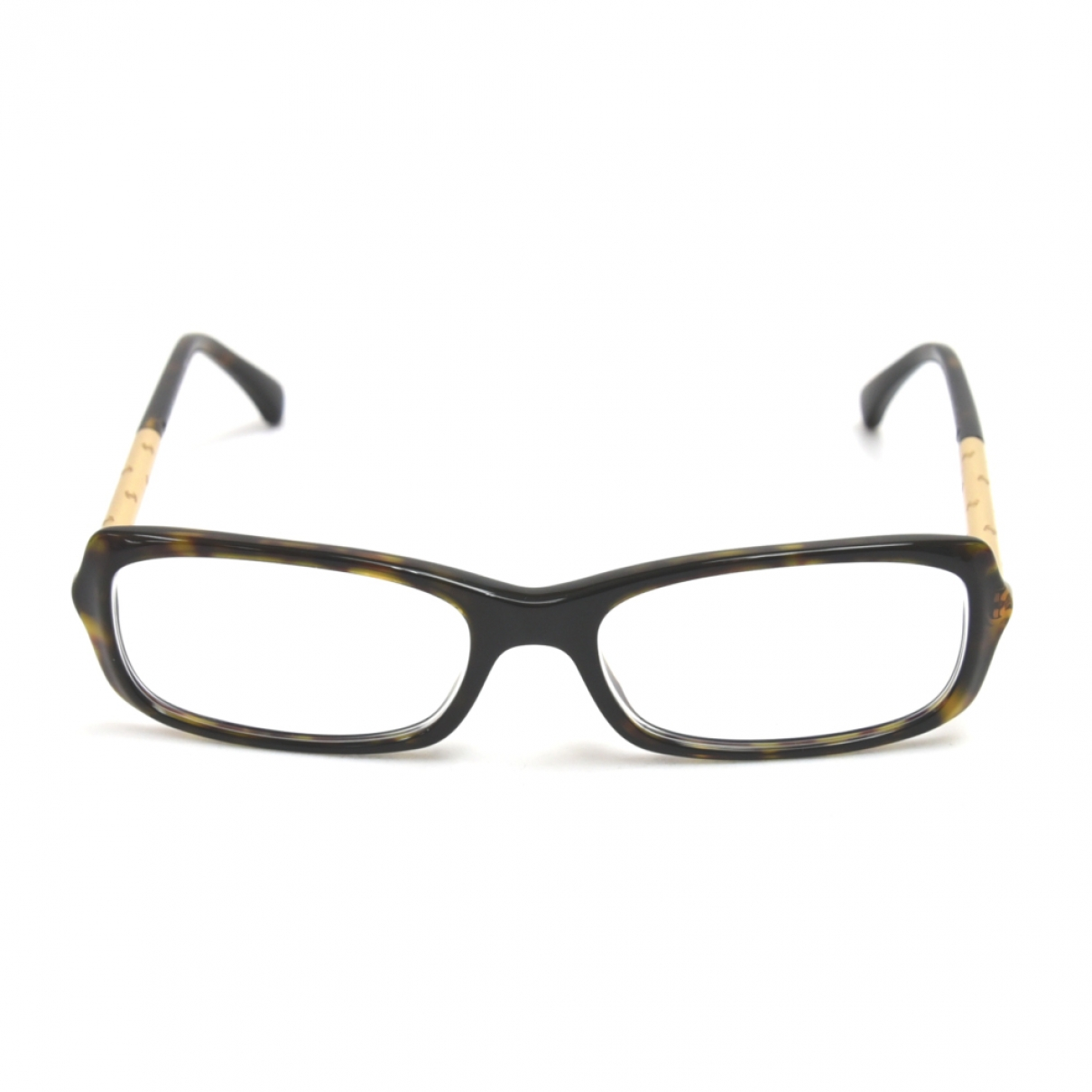 Chanel \N Gold Metal Sunglasses for Women \N