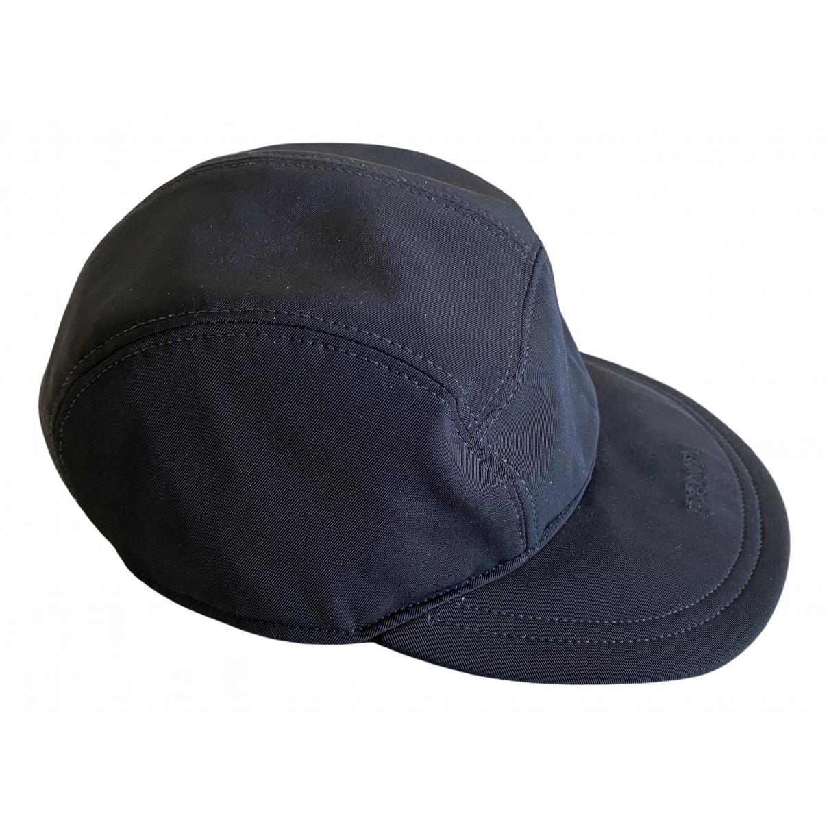Prada N Black Cloth hat for Women S International