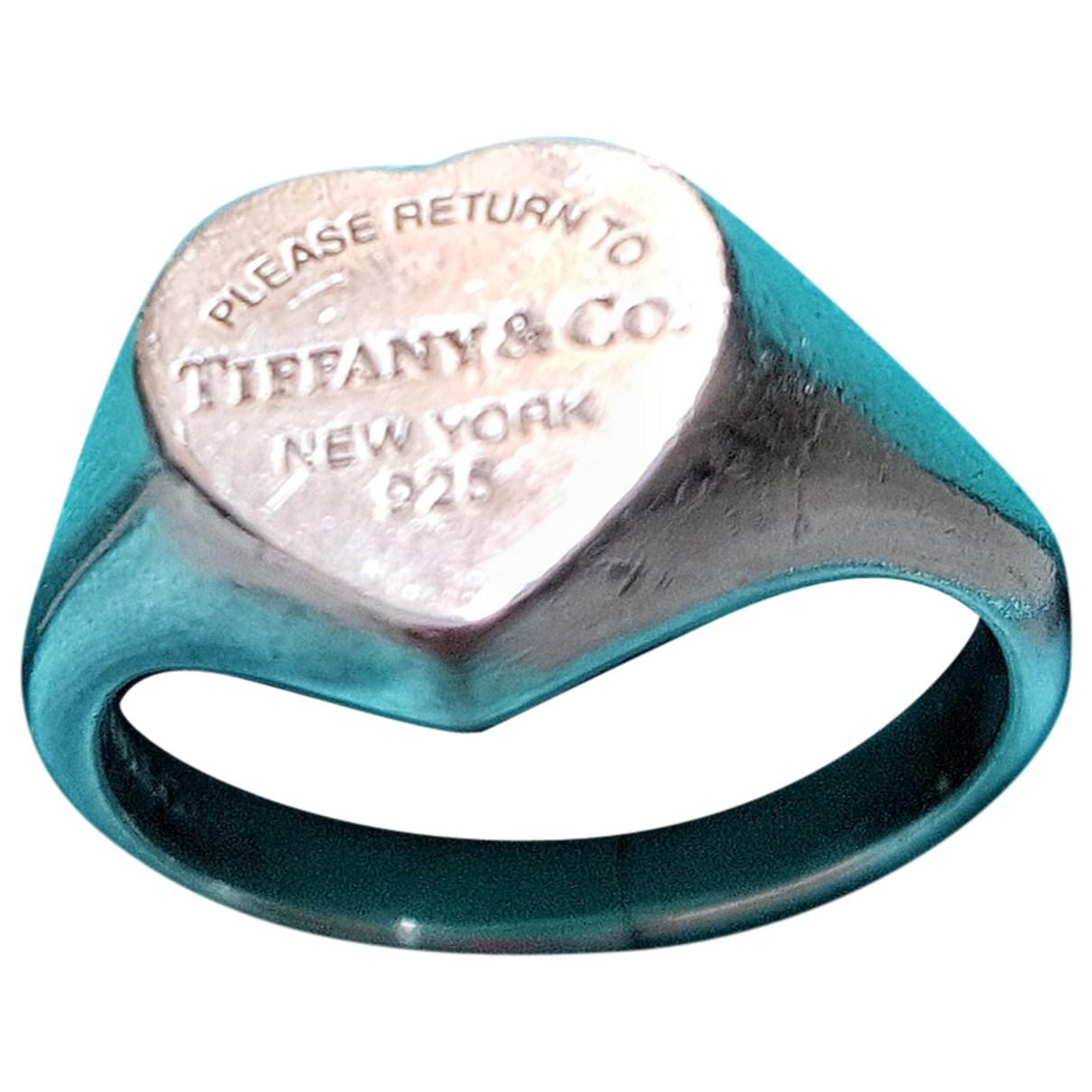 Tiffany & Co - Bague   pour femme en argent - argente