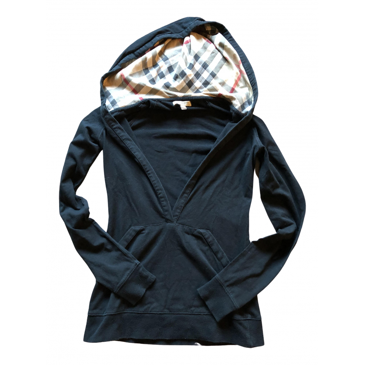 Burberry \N Black Cotton Knitwear for Women XS International