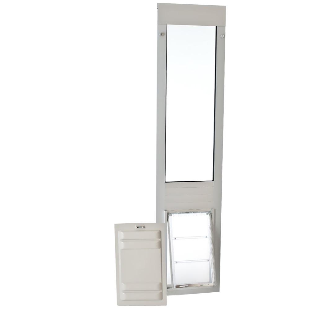 Endura Flap Pet Door - Thermo Panel 3e Satin Frame - Large (77.25