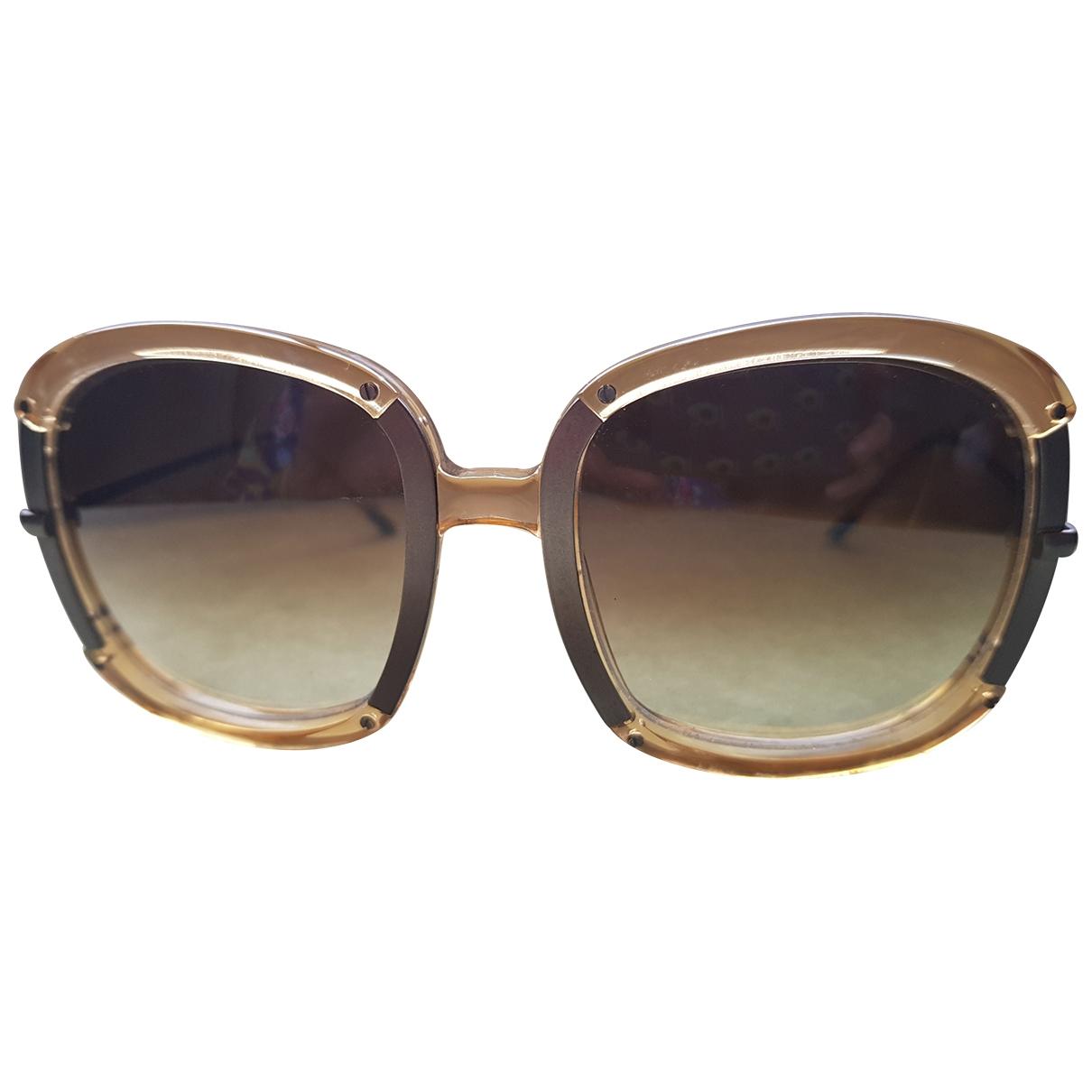 Bottega Veneta \N Multicolour Metal Sunglasses for Women \N