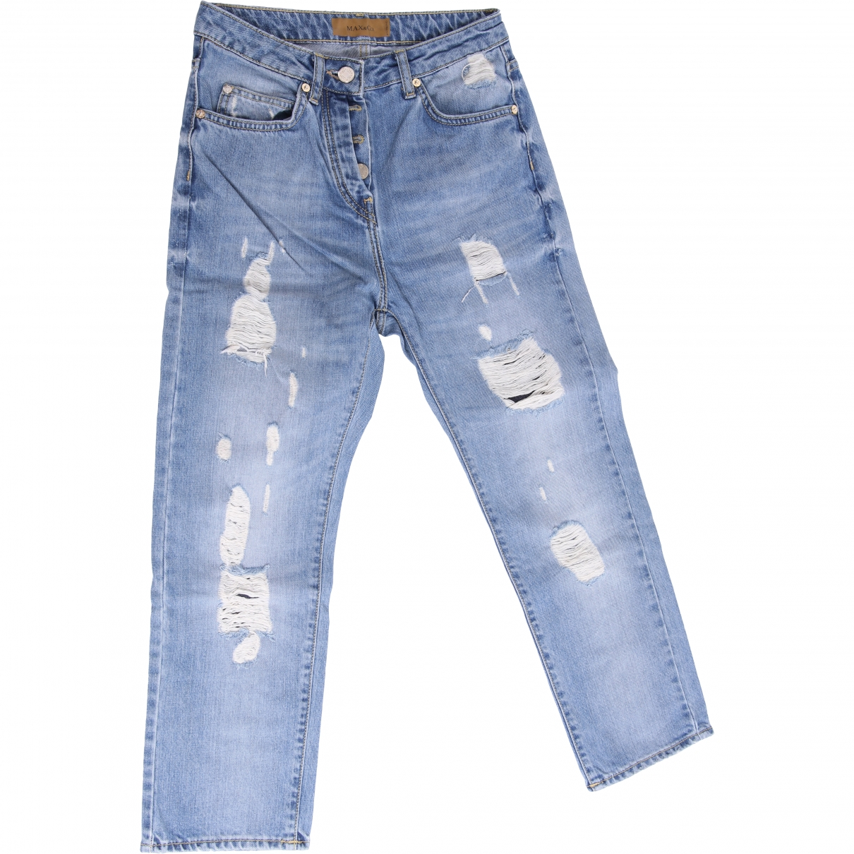 Max & Co \N Blue Cotton Jeans for Women 25 US
