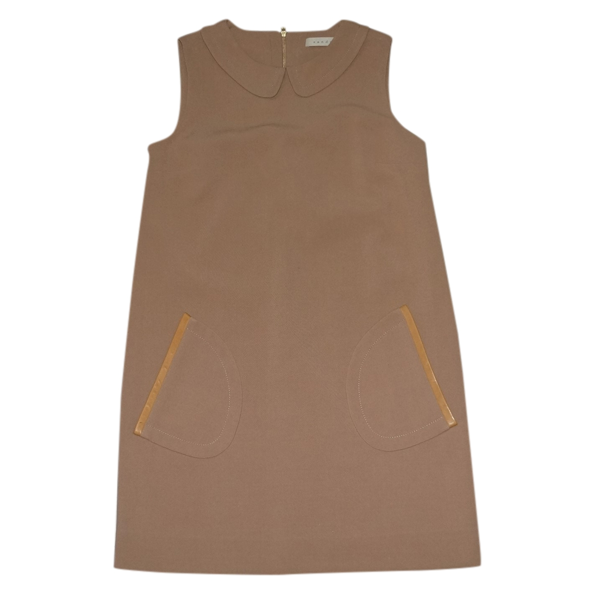 Sandro \N Kleid in  Kamel Polyester