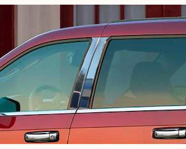 Quality Automotive Accessories 4-Piece Pillar Post Trim Kit Jeep Grand Cherokee 2010