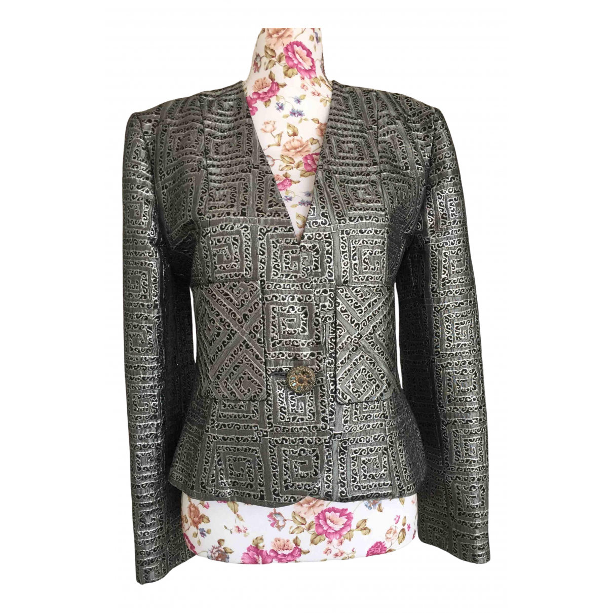 Givenchy \N Silver jacket for Women 38 FR