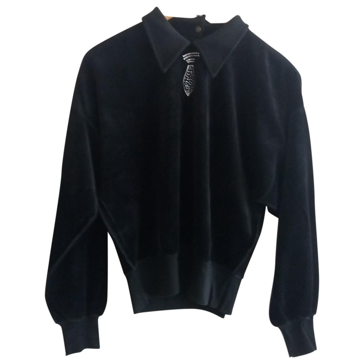 Sonia Rykiel - Pull   pour femme en coton - noir