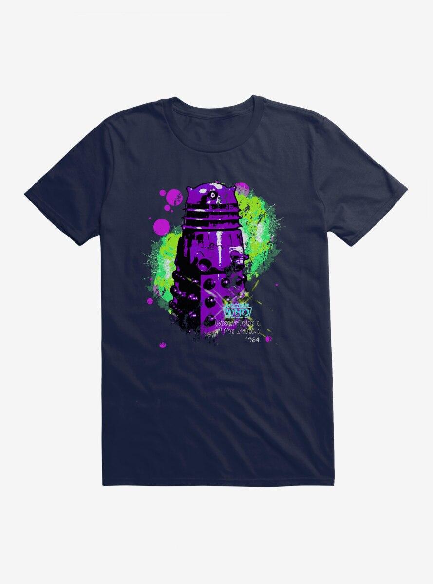 Doctor Who Dalek Neon Art T-Shirt