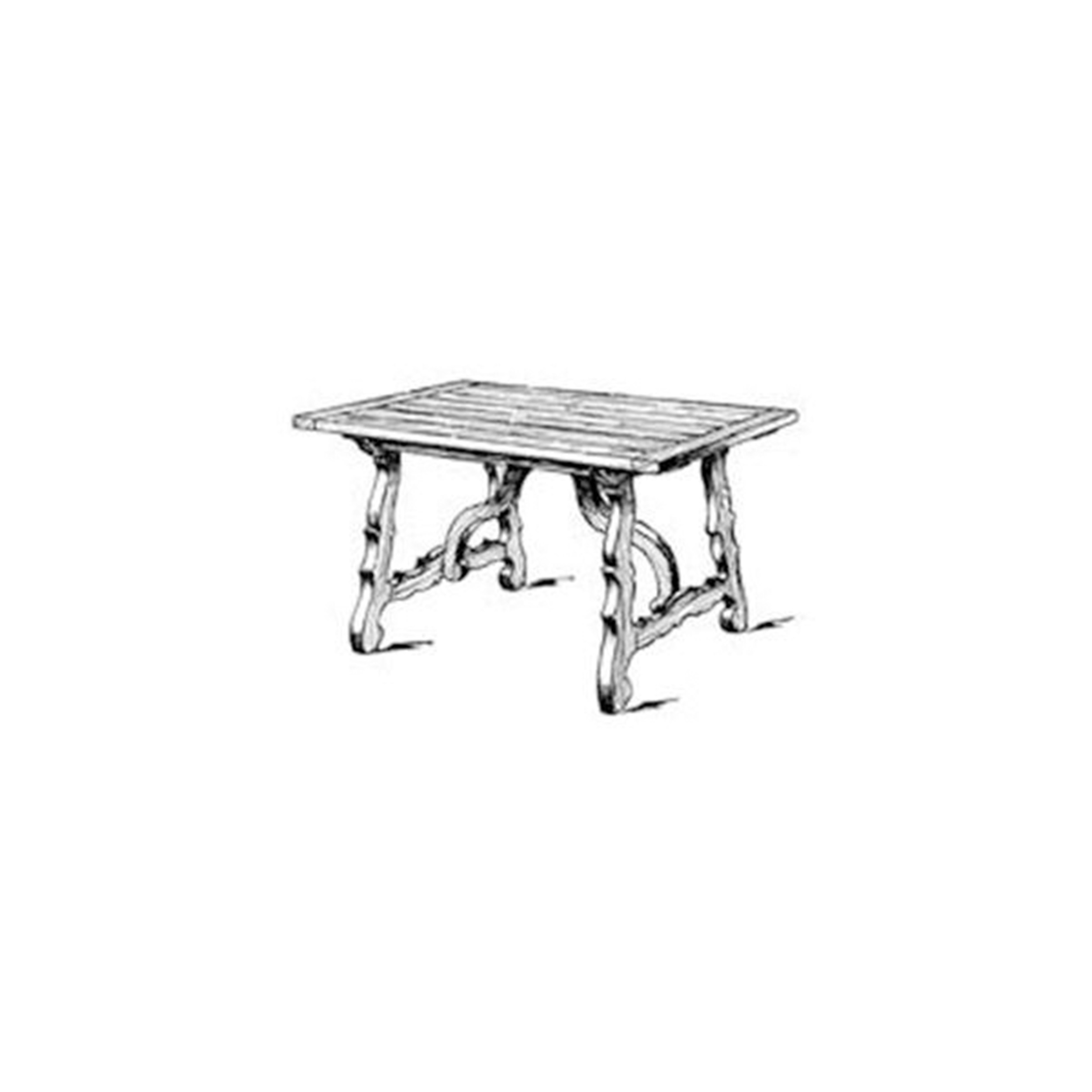 Woodworking Project Paper Plan to Build Spanish Dining Table