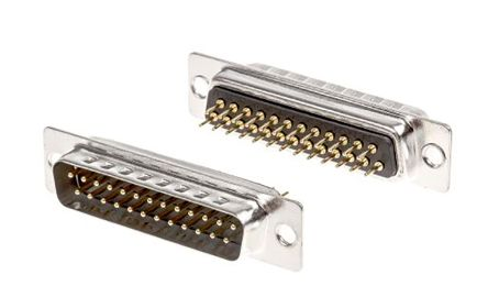 ASSMANN WSW A-DS Series, 25 Way Through Hole PCB D-sub Connector Plug, 2.77mm Pitch (5)
