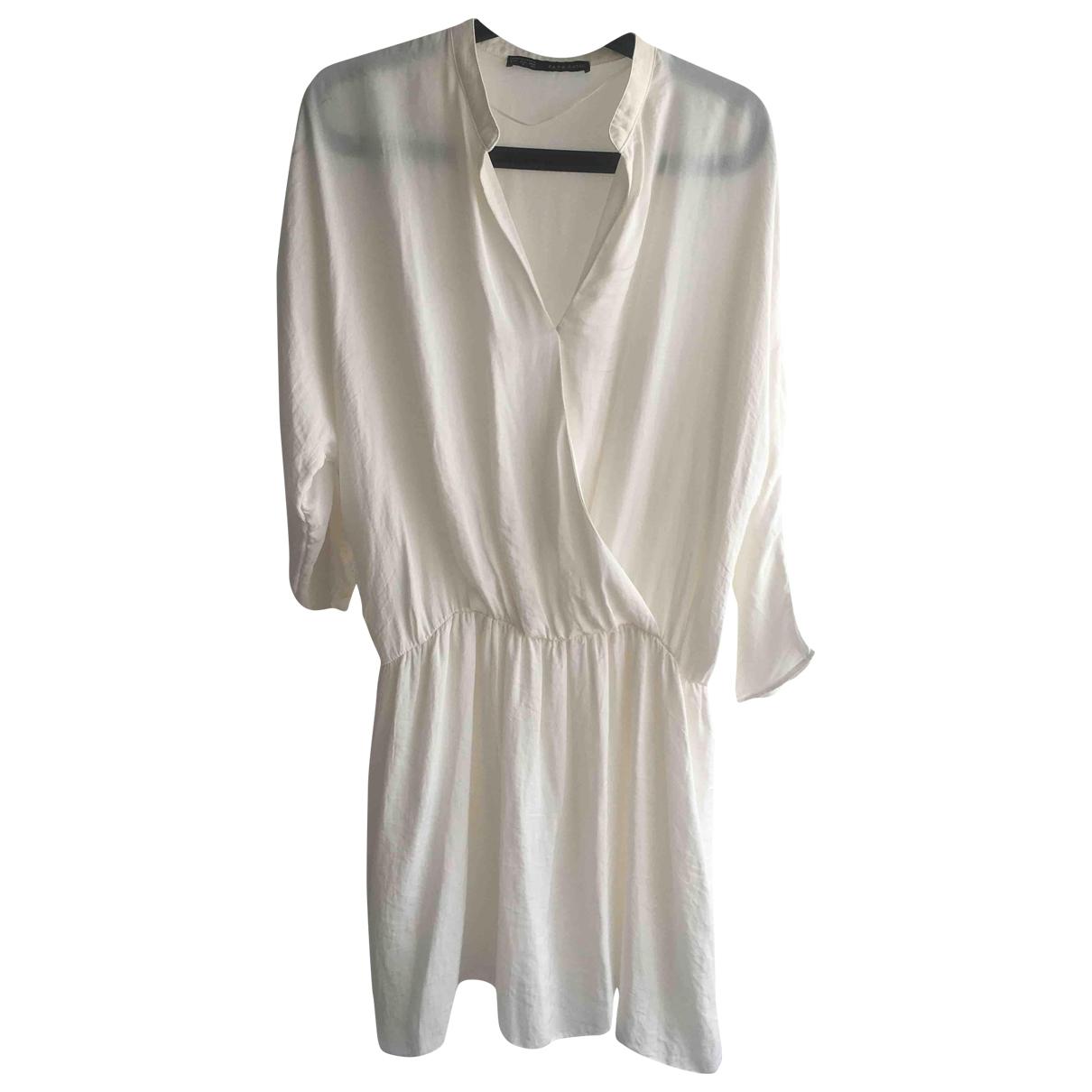 Vestido de Seda Zara
