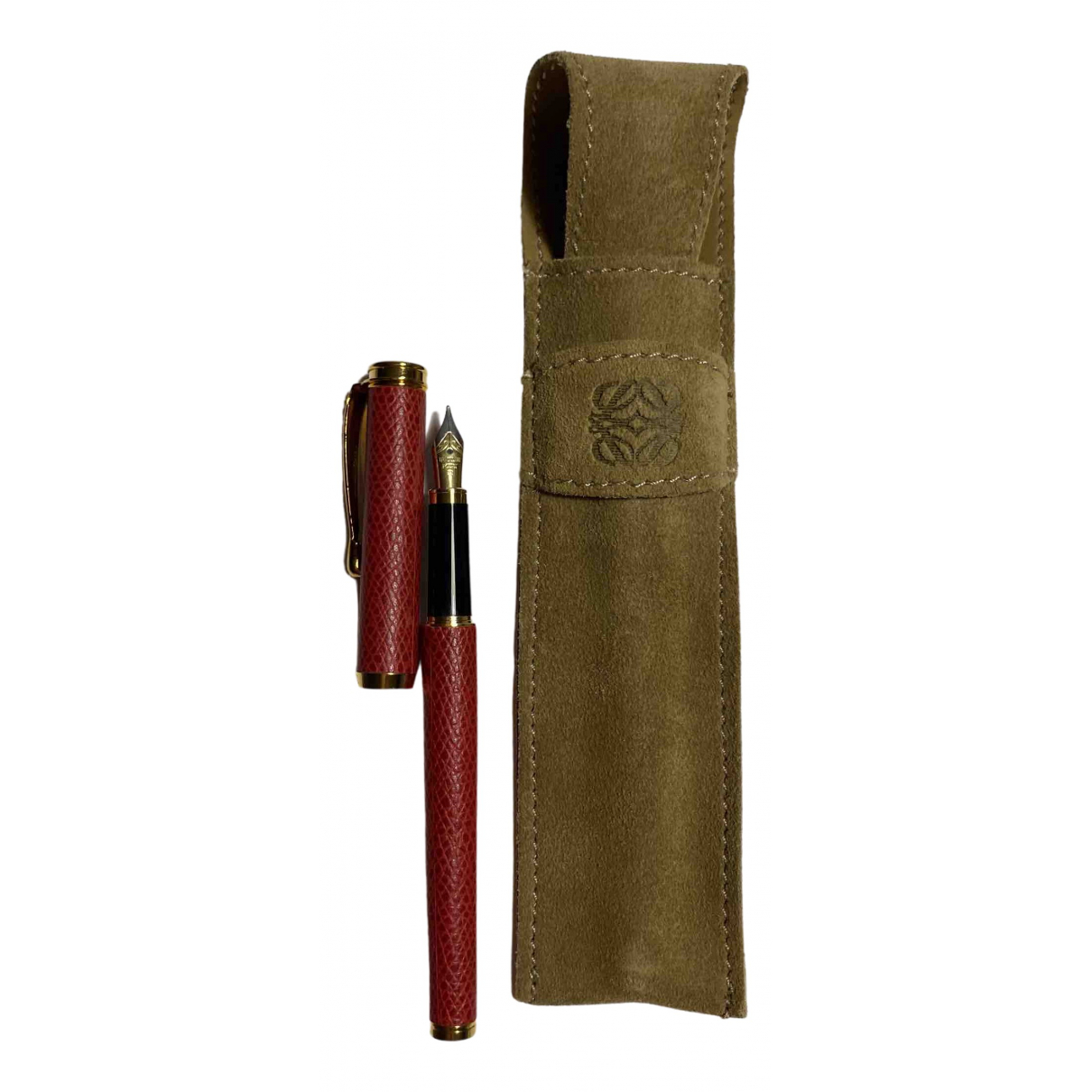 Loewe \N Accessoires und Dekoration in  Rot Stahl