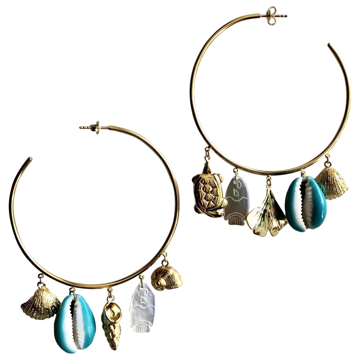 Aurelie Bidermann \N Gold Gold plated Earrings for Women \N