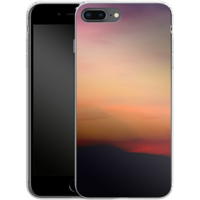 Apple iPhone 8 Plus Silikon Handyhuelle - Sunset von Joy StClaire