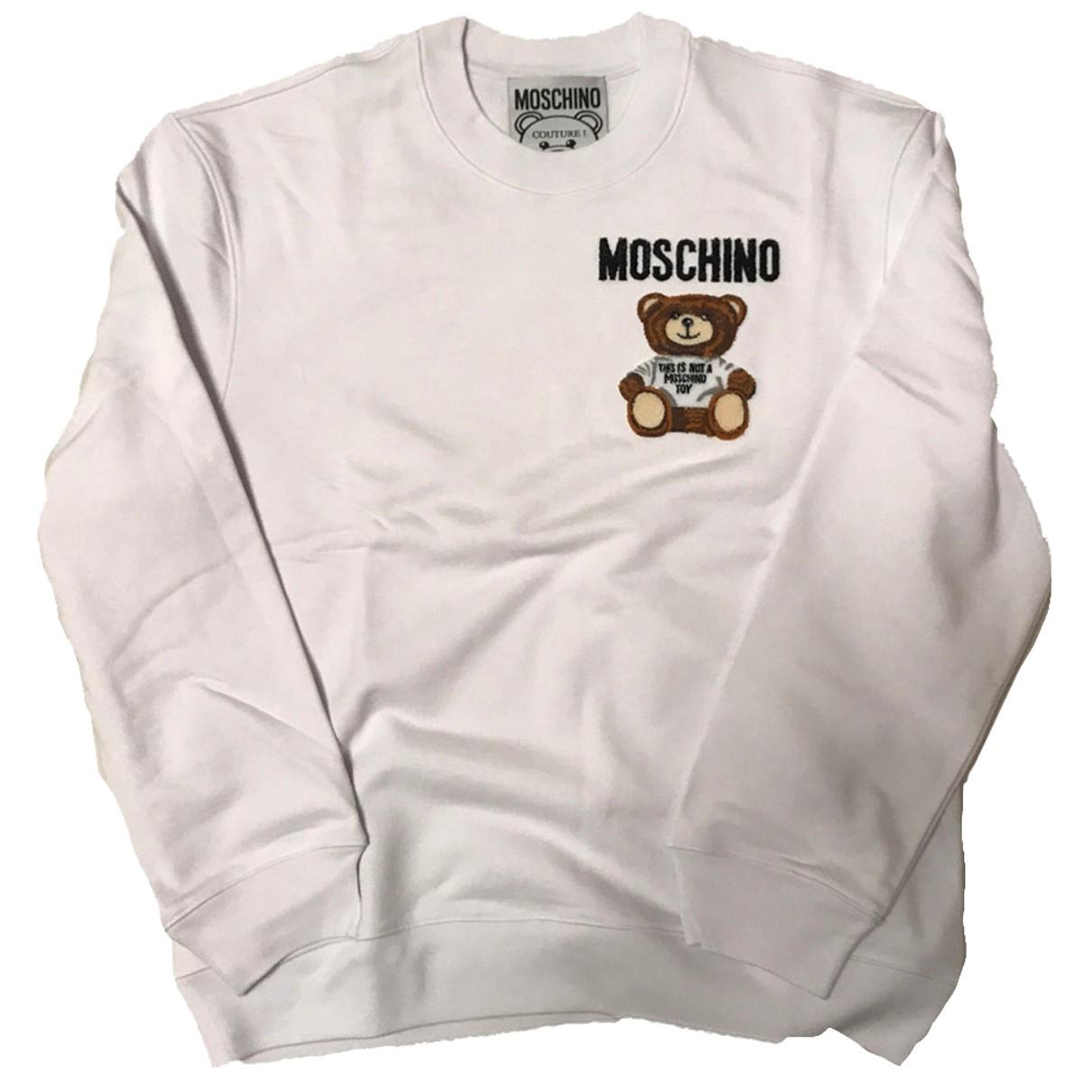 Moschino N White Cotton Knitwear for Women M International