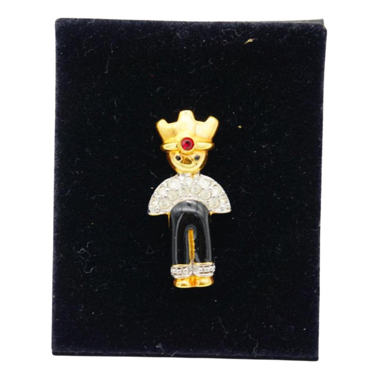 Swarovski Fit Brosche in  Gold Metall