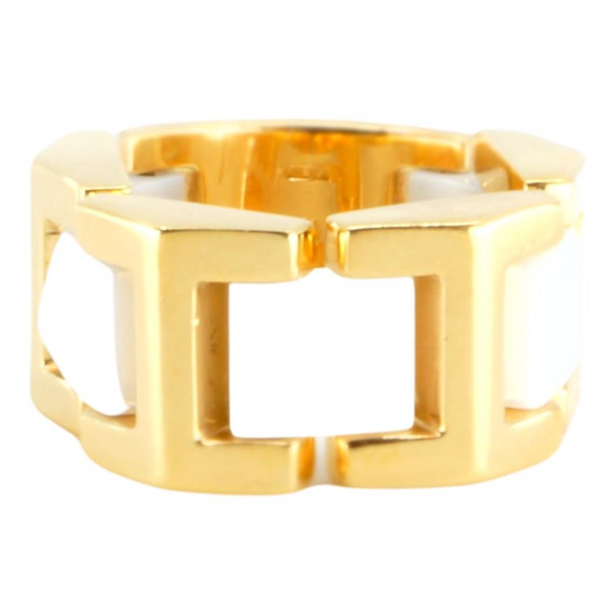 Versace - Bague   pour femme en or jaune - dore