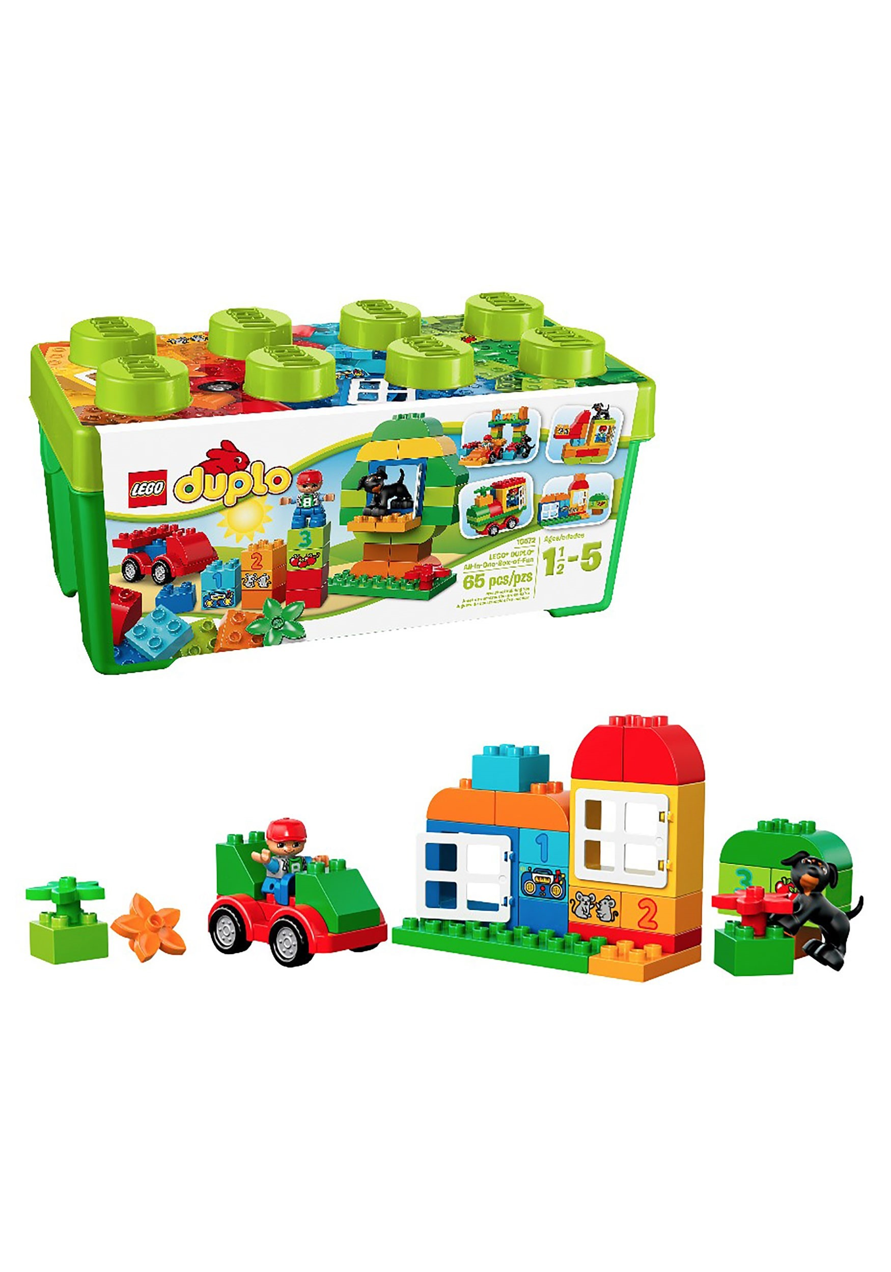 My First LEGO Duplo 65 Piece All-in-One-Box-of-Fun Set